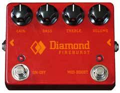 Diamond Fireburst Fuzz/Distortion Pedal