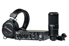 Steinberg UR22C Recording Package w/Audio Interface + Mic + Headphones