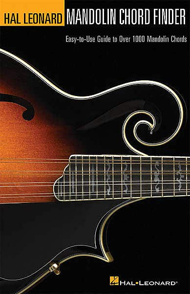 hal leonard mandolin chord finder 6 x 9 /  (HAL LEONARD)