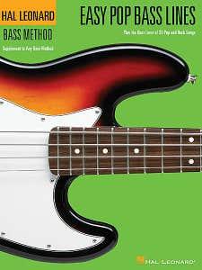 Easy Pop Bass Lines Book 1 /  (HAL LEONARD)