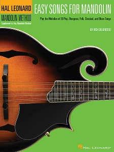 easy songs for mandolin BK only / DELGROSSO RICH (HAL LEONARD)