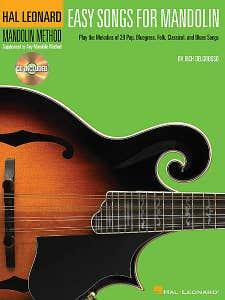 easy songs for mandolin BK/CD / DELGROSSO RICH (HAL LEONARD)