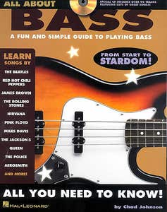 all about bass BK/CD / JOHNSON CHAD (HAL LEONARD)