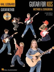 hlgm guitar for kids method & songbook / MORRIS SCHROEDL (HAL LEONARD)