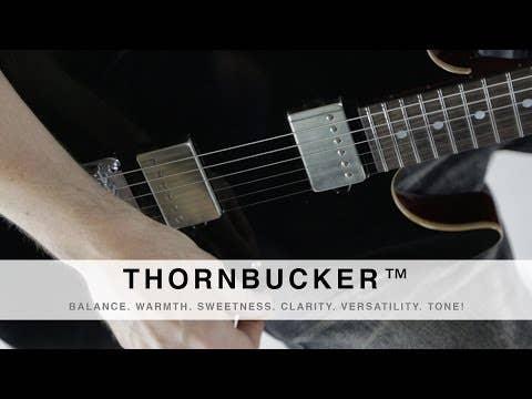 Suhr Thornbucker PLUS Humbucker Pickup - 53mm - Bridge - Raw Nickel
