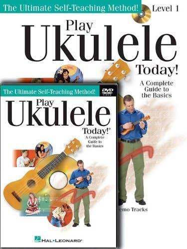 play ukulele today beginner pack BOOK/CD/DVD / TAGLIARINO BARRETT (HAL LEONARD)