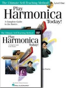 play harmonica today beginner pack BK/CD/DVD / REV LIL (HAL LEONARD)