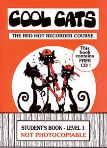 cool cats recorder student BK/CD lvl 1 /  (BUSHFIRE PRESS)