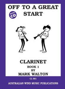 Off To A Great Start Book 1 - Clarinet