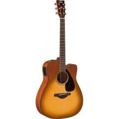 Yamaha FGX800C Acoustic/Electric Guitar - Sand Burst
