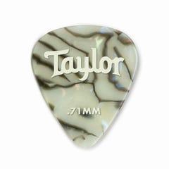 Taylor Celluloid 351 Abalone 0.71 Guitar Picks - 12pk