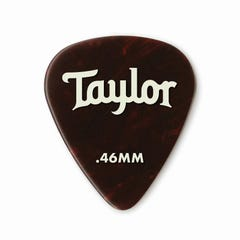Taylor Celluloid 351 Tortise Shell 0.46 Guitar Picks - 12pk