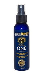 Music Nomad Piano ONE All-in-1 Cleaner, Polish, and Wax for Gloss Pianos