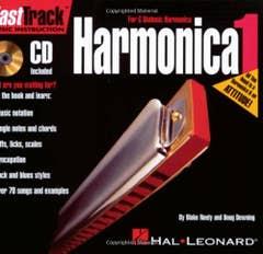 fasttrack harmonica pack BOOK/CD/harmonica / NEELY DOWNING (HAL LEONARD)