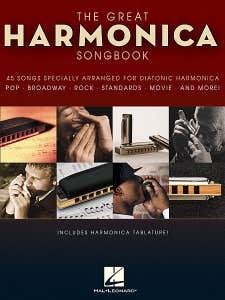 great harmonica songbook / VARIOUS (HAL LEONARD)