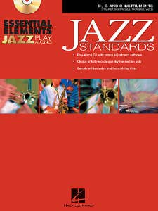 essential elements jazz standards BK/CD / SWEENEY STEINEL (HAL LEONARD)