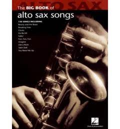 big book of alto sax songs / VARIOUS (HAL LEONARD)