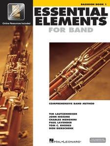 Essential Elements for Band Book 1 Bassoon / LAUTZENHEISER (Hal Leonard)