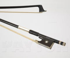 Violin bow 4/4 size carbon BLACK  - FPS STUDENT