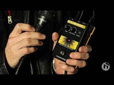TC Helicon VoiceTone D1 Doubling & Detune Pedal