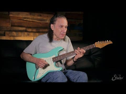Suhr Scott Henderson Signature Classic Guitar - Olympic White