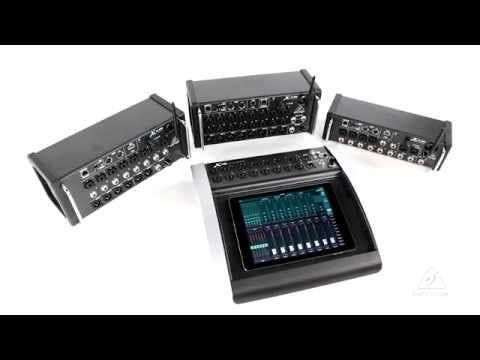 Behringer X18 X-AIR Wireless Digital Mixer w/Tablet Control