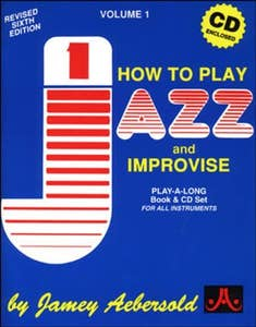 Jazz : How To Play and Improvise Book & CD (Aebersold)