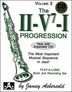 jazz improvisation ii/v7/1 progr BK/CD vol 3 / AEBERSOLD (AEBERSOLD)