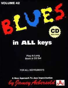 blues in all keys BK/CD vol 42 / AEBERSOLD (AEBERSOLD)