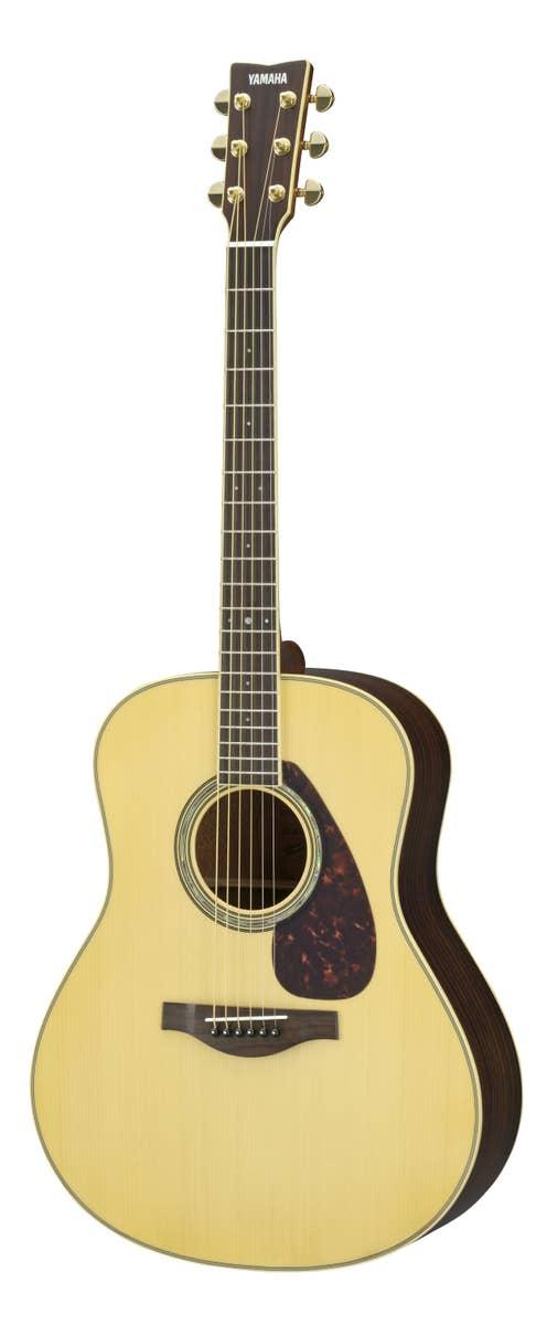 Yamaha LL6ARE Jumbo Acoustic Electric Guitar w/Hard Bag - Natural