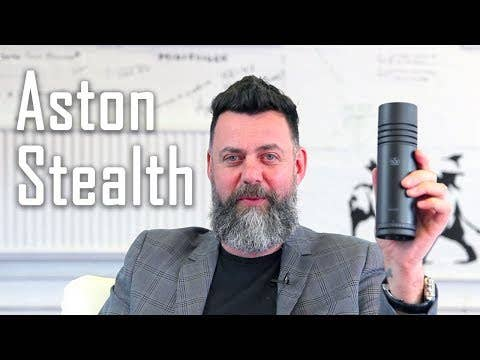 Aston Stealth 4-Voice Broadcast Quality Microphone