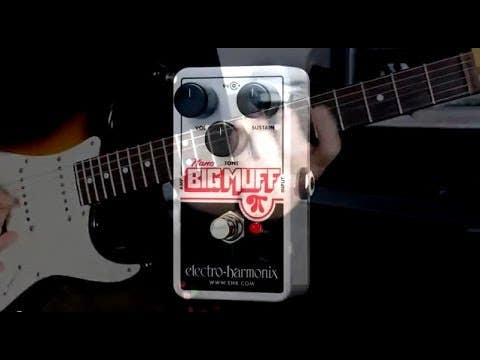 Electro Harmonix Nano Big Muff Pi Fuzz Pedal