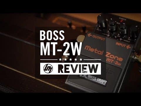 Boss MT-2W Waza Craft Metal Zone Distortion Pedal
