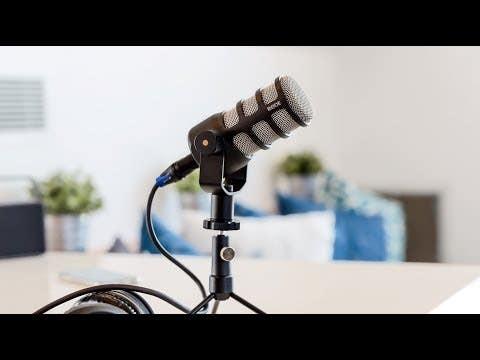 Rode PODMIC Dynamic XLR Podcast Microphone