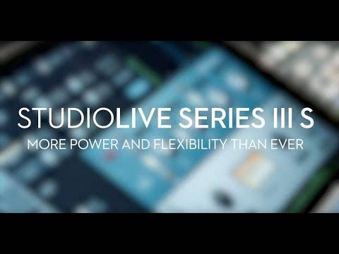 Presonus StudioLive 32SX Digital Mixer w/Studio One Artist