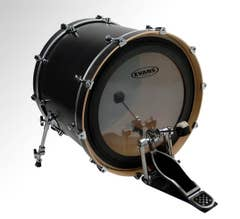 """Evans EMAD 22"""" Clear Bass Drum Head"""