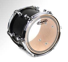 """Evans EC2 Clear 13"""" Drum Head"""