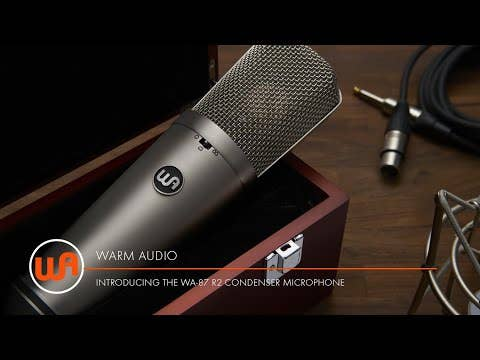 Warm Audio WA-87 Rev 2 FET Condenser Microphone - Black