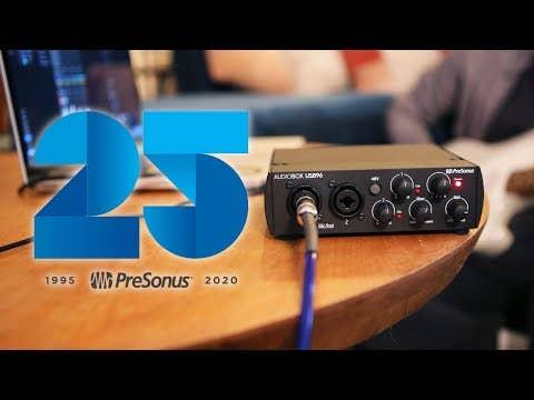 Presonus AudioBox USB 96 Interface w/Studio One Artist + Ableton Live Lite