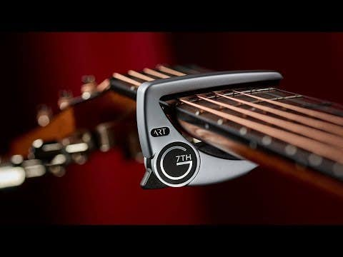 G7th Performance 3 6-String Acoustic/Electric Guitar Capo - Silver