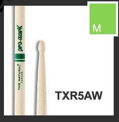 Promark 5A Wood Tip Natural Drumsticks