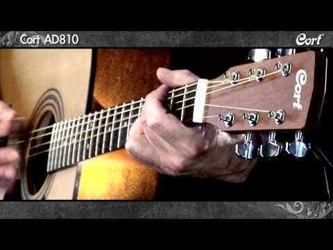 Cort AD810 Acoustic Guitar - Natural