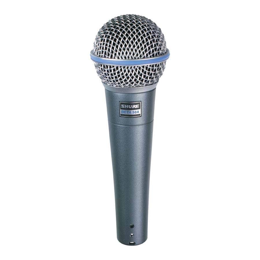 Shure Beta 58A Dynamic Vocal Microphone (BETA-58A)