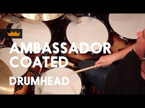 Remo Ambassador Coated 12
