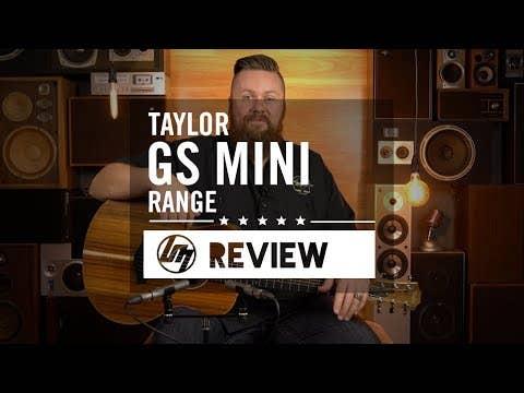 Taylor GS Mini-e Acoustic Electric Guitar w/Hard Bag - Koa