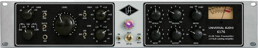 Universal Audio UA6176 Studio Channel Preamp + Compressor