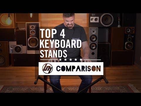 KS166 double braced keyboard stand (KS-166)