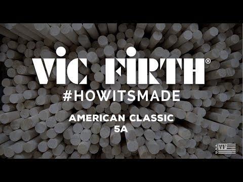Vic Firth 5A Wood Tip Drumsticks