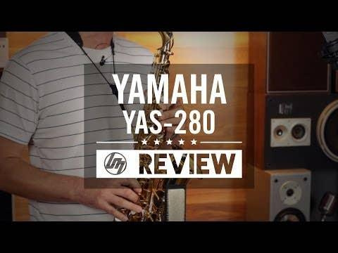 Yamaha YAS280 Student Alto Saxophone (YAS-280)