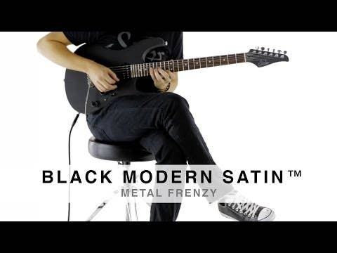 Suhr Modern Satin HSH Electric Guitar w/ Deluxe Gigbag - Black